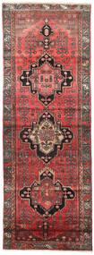 Saveh Matto 110X300 Itämainen Käsinsolmittu Käytävämatto Tummanpunainen/Tummanruskea (Villa, Persia/Iran)