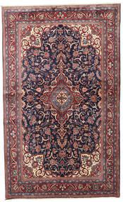 Sarough Matta 128X212 Äkta Orientalisk Handknuten Mörkröd/Ljusgrå (Ull, Persien/Iran)