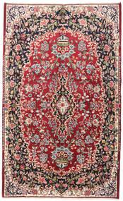 Yazd Vloerkleed 148X240 Echt Oosters Handgeknoopt Purper/Roestkleur (Wol, Perzië/Iran)