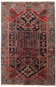 Saveh Alfombra 130X198 Oriental Hecha A Mano Rojo Oscuro/Negro (Lana, Persia/Irán)