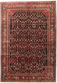 Lillian Matta 227X320 Äkta Orientalisk Handknuten Mörkbrun/Mörkröd (Ull, Persien/Iran)