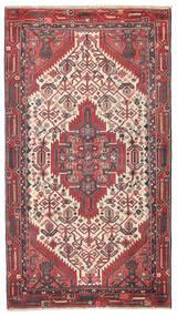Hamadan Patina Rug 95X168 Authentic  Oriental Handknotted Dark Red/Rust Red (Wool, Persia/Iran)