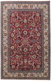 Yazd Patina Matta 198X312 Äkta Orientalisk Handknuten Mörkbrun/Mörkröd (Ull, Persien/Iran)