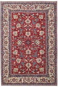Yazd Patina Rug 200X300 Authentic  Oriental Handknotted Light Grey/Dark Red (Wool, Persia/Iran)