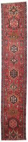 Heriz Patina Matta 65X327 Äkta Orientalisk Handknuten Hallmatta Brun/Mörkröd (Ull, Persien/Iran)