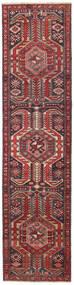 Ardabil Patina Tapete 72X297 Oriental Feito A Mão Tapete Passadeira Vermelho Escuro/Castanho (Lã, Pérsia/Irão)