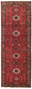 Hamadan Patina Rug 108X318 Authentic Oriental Handknotted Hallway Runner Dark Red/Brown (Wool, Persia/Iran)