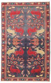 Bakhtiari Patina Rug 112X182 Authentic  Oriental Handknotted Dark Grey/Dark Red (Wool, Persia/Iran)