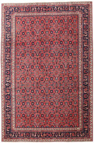 Wiss Patina Rug 205X307 Authentic  Oriental Handknotted Dark Purple/Crimson Red (Wool, Persia/Iran)