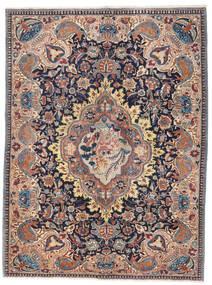 Kashmar Patina Vloerkleed 138X185 Echt Oosters Handgeknoopt Donkerrood/Donkergrijs (Wol, Perzië/Iran)
