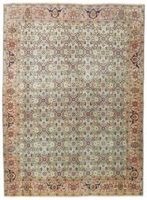 Tabriz Patina Matto 136X185 Itämainen Käsinsolmittu Vaaleanharmaa/Vaaleanruskea (Villa, Persia/Iran)