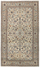 Kashan Patina Covor 147X250 Orientale Lucrat Manual Gri Deschis/Bej (Lână, Persia/Iran)
