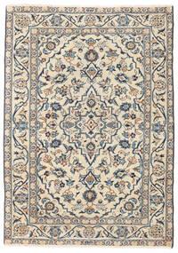 Keshan Patine Sag 100X143 Autentični Orijentalni Ručno Uzlan Bež/Svjetlosiva (Vuna, Perzija/Iran)