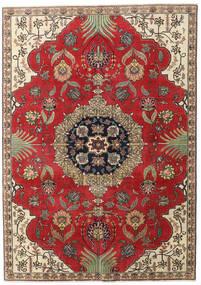 Ardebil Patina Teppe 190X268 Ekte Orientalsk Håndknyttet Rust/Mørk Brun (Ull, Persia/Iran)
