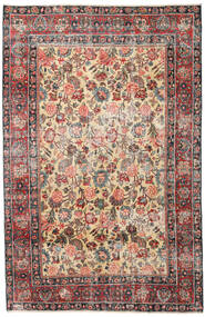 Mashad Patina Rug 185X285 Authentic  Oriental Handknotted Dark Grey/Light Brown (Wool, Persia/Iran)
