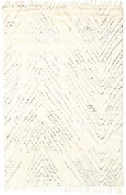 Barchi/Moroccan Berber - Indie Dywan 154X240 Nowoczesny Tkany Ręcznie Beżowy/Biały/Creme (Wełna, Indie)