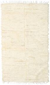 Barchi/Moroccan Berber - Indo Matto 149X256 Moderni Käsinsolmittu Beige/Valkoinen/Creme (Villa, Intia)