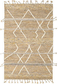 Barchi/Moroccan Berber - Indo Rug 153X240 Authentic  Modern Handknotted Beige/Light Brown/Dark Beige (Wool, India)