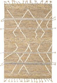 Barchi/Moroccan Berber - Indo Matto 153X240 Moderni Käsinsolmittu Beige/Vaaleanruskea/Tummanbeige (Villa, Intia)