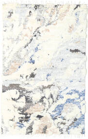 Barchi/Moroccan Berber - Indie Dywan 150X241 Nowoczesny Tkany Ręcznie Beżowy/Biały/Creme (Wełna, Indie)