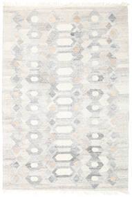 Pet Yarn Kilim Dywan 160X230 Nowoczesny Tkany Ręcznie Jasnoszary/Beżowy ( Indie)