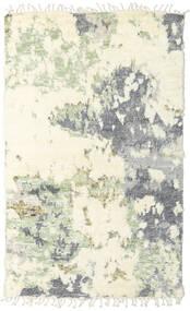 Barchi/Moroccan Berber - Indie Dywan 149X245 Nowoczesny Tkany Ręcznie Beżowy/Biały/Creme (Wełna, Indie)