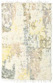 Barchi/Moroccan Berber - Indisch Teppich  152X240 Echter Moderner Handgeknüpfter Beige/Hellgrau (Wolle, Indien)