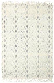 Barchi/Moroccan Berber - Indie Dywan 159X239 Nowoczesny Tkany Ręcznie Biały/Creme/Beżowy (Wełna, Indie)
