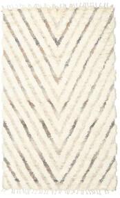 Barchi/Moroccan Berber - Indo Covor 154X250 Modern Lucrat Manual Bej/Bej-Crem (Lână, India)