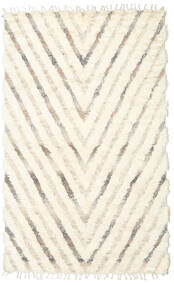 Barchi/Moroccan Berber - Indisk Matta 154X250 Äkta Modern Handknuten Beige/Vit/Cremefärgad (Ull, Indien)