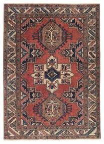 Heriz Patina Rug 110X153 Authentic  Oriental Handknotted Dark Red/Black (Wool, Persia/Iran)