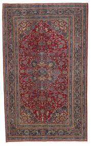 Kashmar Patina Matto 146X237 Itämainen Käsinsolmittu Tummanpunainen/Musta (Villa, Persia/Iran)