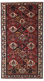 Bakhtiari Patine Sag 159X293 Autentični Orijentalni Ručno Uzlan Staza Za Hodnik Tamnocrvena/Crna (Vuna, Perzija/Iran)