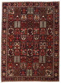 Bakhtiar Patina Matto 262X358 Itämainen Käsinsolmittu Tummanpunainen/Tummanruskea Isot (Villa, Persia/Iran)