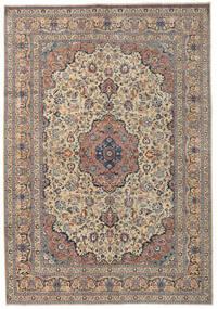 Kashmar Patina Teppe 250X355 Ekte Orientalsk Håndknyttet Lysbrun/Mørk Grå Stort (Ull, Persia/Iran)
