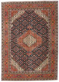 Ardebil Patina Rug 208X290 Authentic  Oriental Handknotted Dark Grey/Dark Red (Wool, Persia/Iran)