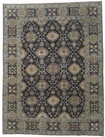 Najafabad Patina Rug 293X385 Authentic  Oriental Handknotted Dark Grey/Black Large (Wool, Persia/Iran)