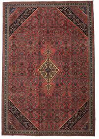 Hamadan Patina Tæppe 265X388 Ægte Orientalsk Håndknyttet Mørkerød/Sort Stort (Uld, Persien/Iran)