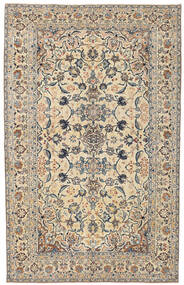 Najafabad Patina Rug 150X237 Authentic  Oriental Handknotted Beige/Light Grey (Wool, Persia/Iran)