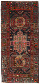 Ardabil Patina Tapis 105X225 D'orient Fait Main Rouge Foncé/Marron Foncé (Laine, Perse/Iran)