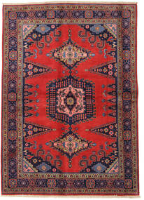 Wiss Rug 165X234 Authentic  Oriental Handknotted Dark Red/Rust Red (Wool, Persia/Iran)