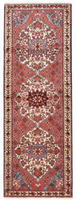バクティアリ 絨毯 108X300 オリエンタル 手織り 廊下 カーペット 深紅色の/ベージュ (ウール, ペルシャ/イラン)