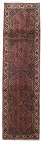 Bidżar Zanjan Dywan 82X305 Orientalny Tkany Ręcznie Chodnik Ciemnobrązowy/Ciemnoczerwony (Wełna, Persja/Iran)