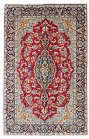 Kerman Koberec 149X234 Orientální Ručně Tkaný Tmavě Červená/Tmavě Fialová (Vlna, Persie/Írán)