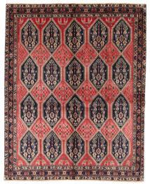 Afshar/Sirjan Teppe 159X200 Ekte Orientalsk Håndknyttet Brun/Mørk Grå (Ull, Persia/Iran)