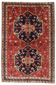 Ardebil Rug 150X225 Authentic Oriental Handknotted Rust Red/Dark Red/Black (Wool, Persia/Iran)