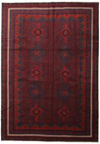 Beluch Matta 285X406 Äkta Orientalisk Handknuten Mörkröd Stor (Ull, Persien/Iran)