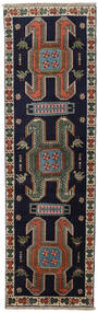Ardabil Dywan 72X240 Orientalny Tkany Ręcznie Chodnik Ciemnoszary/Jasnoszary (Wełna, Persja/Iran)