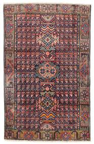Wiss Rug 99X157 Authentic Oriental Handknotted Dark Grey/Dark Red (Wool, Persia/Iran)