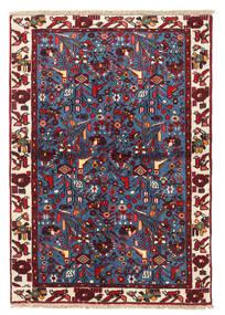 Rudbar Vloerkleed 99X141 Echt Oosters Handgeknoopt Donkerpaars/Donkerrood (Wol, Perzië/Iran)